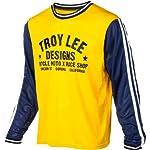 Troy Lee Designs Super Retro Jersey Men's Yellow/Blue