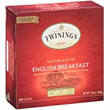 Twinings Tea, English Breakfast, 100 Count, 7.05 oz