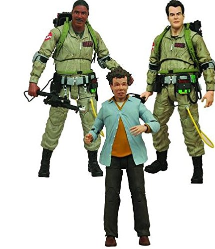 "Ghostbusters Ghostbusters Select Series 1 Stanz, Zeddemore & Louis 7"" Set of 3 Action Figures"