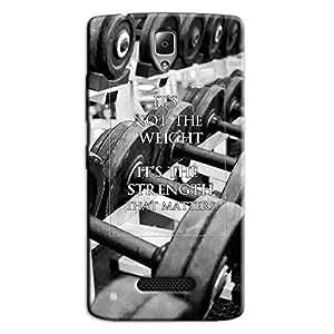 STRENGTH BACK COVER FOR LENOVO A2010