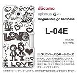 docomo Optimus G Pro L-04E ケース Optimus G Pro L-04E カバー ケース・ジャケット【LOVE137/l04e-PM137】