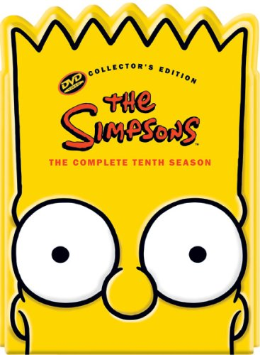 Cover art for  The Simpsons: The Complete Tenth Season