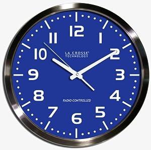 how to set atomic clock la crosse w86111