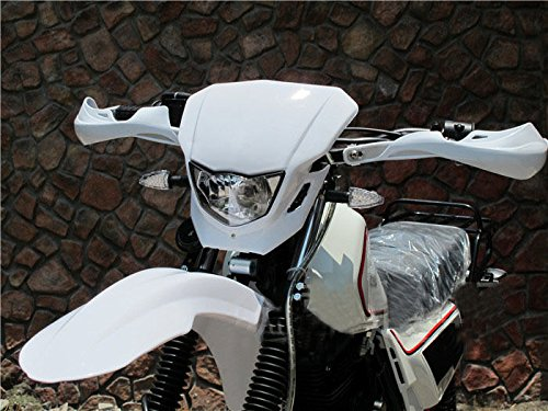 35W White Off Road Dirt Bike Enduro MX Supermoto Headlight For Suzuki RM RMX RMZ Honda CRF50F CRF Kawasaki KX LKX KTM EXC XC MXC 250 (Dirt Bike Headlight compare prices)
