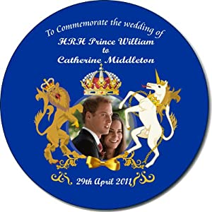 Prince William and Catherine (Kate) Middleton Royal Wedding - Neoprene non-slip Coasters