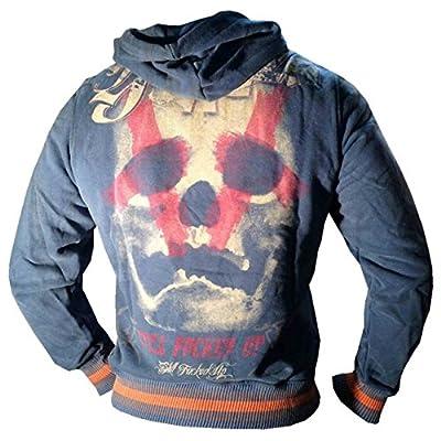 Yakuza ORIGINAL Kapuzensweatshirt - HOB 425 indian teal moon NEU S-3XL
