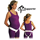 Perinatal Cares V2 Supporter (Large, White) by Prenatal Cradle
