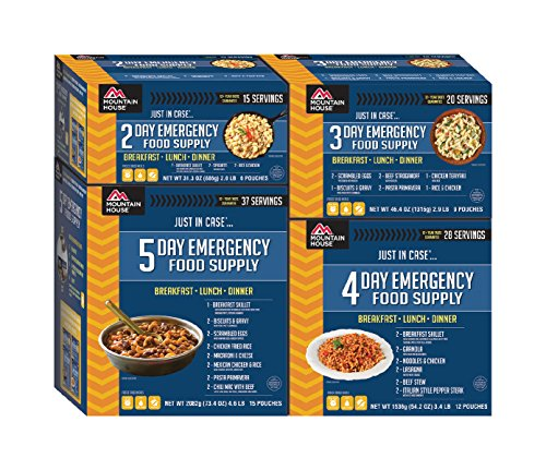 Mountain House 14 Day Emergency Food Supply