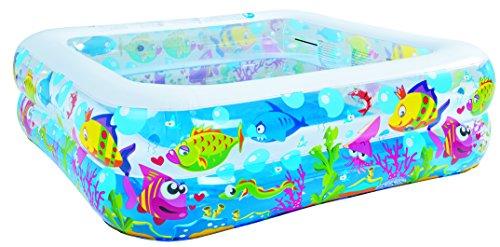 jilong-sea-world-square-pool-piscina-infantil-hexagonal-de-gran-tamano-con-animales-marinos-para-nin
