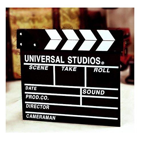 Aisila® Black Professional Vintage TV Movie Film Clap