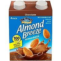 4-Pack Blue Diamond Dairy Free Almond Breeze Almondmilk (Chocolate)