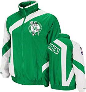 Boston Celtics Green Mitchell & Ness One-on-One Windbreaker by Mitchell & Ness