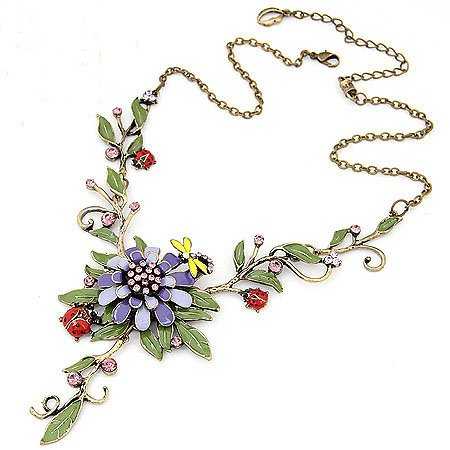 Fashion Bohemian Flower Neckalce Women 'S Clothing