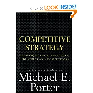 Textbook ebooks competitive strategy techniques for for Porter 5 forces book