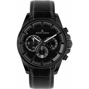 Jacques Lemans Men's 1-1655F Liverpool Sport Analog Chronograph Watch