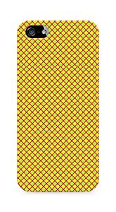 Amez designer printed 3d premium high quality back case cover for Apple iPhone 5s (Geometric Bright Pattern2)