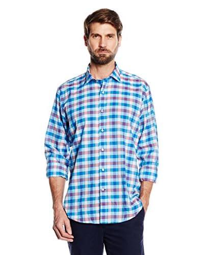 Cortefiel Camisa Hombre Azul