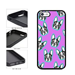 BleuReign(TM) Cute Terriers On Pastel Background TPU RUBBER Phone Case