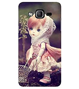 Evaluze girl Printed Back Cover for SAMSUNG GALAXY ON7 2015