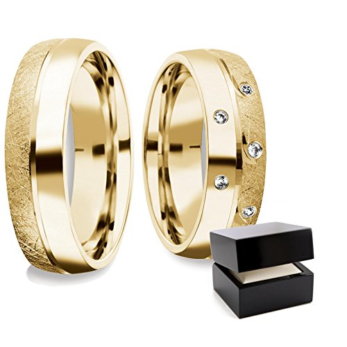 ... Eheringe Partnerringe Silber Ringpaar vergoldet Hochzeitsringe Paar