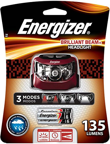 Energizer Brilliant Beam LED Headlamp (135 Lumens)