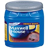 Maxwell House French Roast Ground Coffee 33 Ounce Canister  Pack of 2 