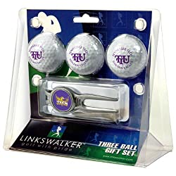 Tennessee Tech Golden Eagles NCAA 3 Ball Gift Pack w/ Kool Tool