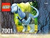 おもちゃ Lego レゴ Dinosaurs Iguanodon #7001 [並行輸入品]