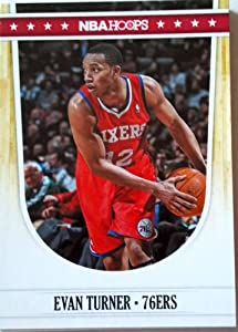 2011-12 Panini Hoops #188 Evan Turner Trading Card in a Protective Case by Hoops