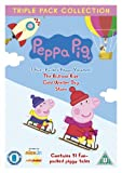 Peppa Pig Triple (Balloon Ride, Cold Winter's Day, Stars) 3 Disc Vol 8-10 [DVD]