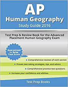 ap human geography study guide ch Chapter 3 study guide test will consist of: 30 multiple choice questions (5 answer options) (2 points each)  ap human geography .