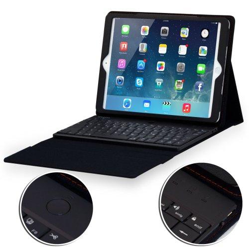 Sharon シャロン iPad Air iPad 5 キーボード ケース Bluetoothキーボード内臓 (英語レイアウト), 保護カバー iPad Air 用