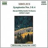 Sibelius Sinfonien 3 und 4 Leaper