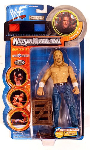 Jakks Pacific WWF Triple H Wrestle Mania XVII Series 9 Figure