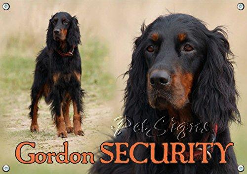 dog-sign-gordon-setter-gordon-security-din-a5