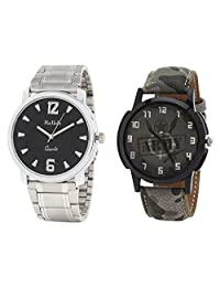 Relish Analog Round Casual Wear Watches For Men Combo - B01ANCDNDU