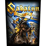 Sabaton - Backpatch Carolus Rex (in 23,5 cm x 20 cm)