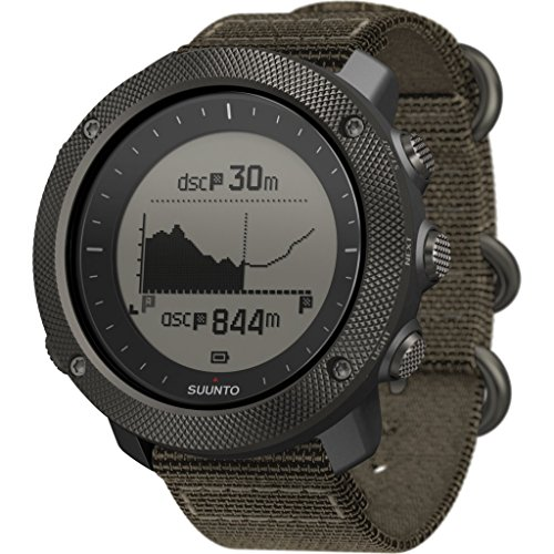 Suunto Traverse Alpha GPS Watch - Foliage