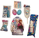 Disney Frozen Easter Basket Candy (8 Piece) featuring Elsa, Anna, and Olaf