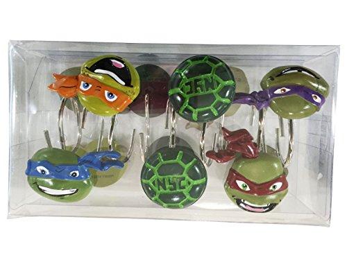 Turtle Bathroom Decor: Teenage Mutant Ninja Turtle 6pc Bathroom Accessory Set