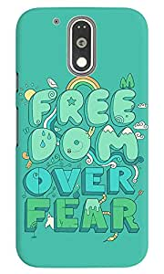 Dreambolic Free Dom Over Fear Graphic Back Covers