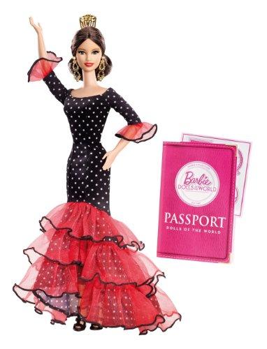 Barbie-Coleccin-mueca-Espaa-Mattel-X8421