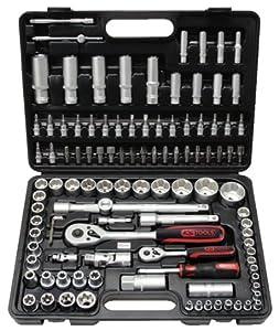 KS Tools 911.0708 1/4 +1/2 SUPERLOCK SteckschlüsselSatz, 108tlg.  BaumarktBewertungen
