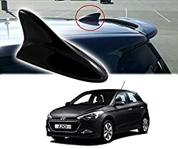 Auto Pearl - Premium Quality Black Shark Fin Replacement Signal Receiver Antenna For - Hyundai I20 Elite