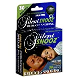 Silent Snooz Snoring Aid, with Soothing Eucalyptus, 1 Size Fits All 1 snoring aid