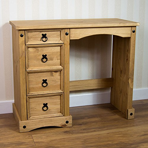 home-discount-corona-dressing-table-4-drawer-solid-pine-wood