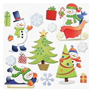 Stickerkoenig wandtattoo 3d sticker f r kinderzimmer xxl for Weihnachtsdeko kinderzimmer