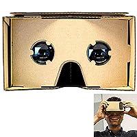 SeresRoad® Unassembled DIY Google Cardboard Cellphone Valencia Quality 3d Vr Virtual Reality 3D Glasses for iPhone Samsung HTC Moto X Nexus 5 Cellphones from SeresRoad