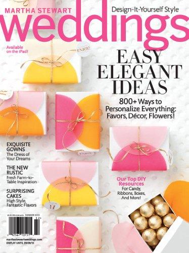 Martha Stewart Weddings (1-year auto-renewal)