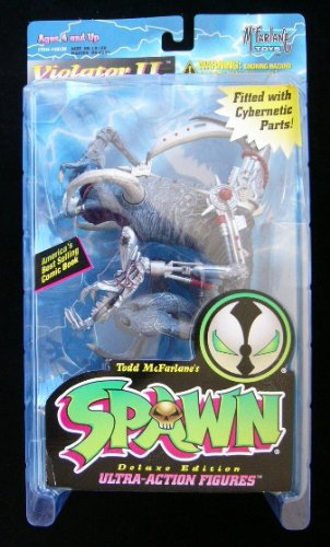 Cyber Violator II Todd McFarlane Toys Deluxe Edition Spawn Action Figure